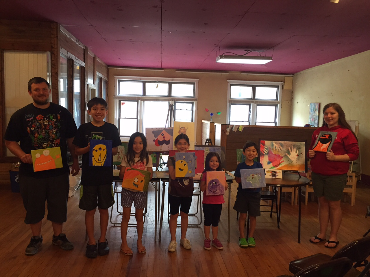 Monster Mash-up Private Lesson Party 5/22/15